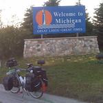 Midge had great times in Michigan.