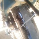 Worn brake pads, ugh!